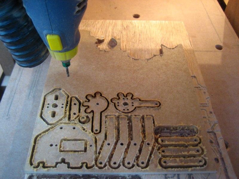 Homemade Robotic Arm Designs : Diy robot robotic arm homemade cnc j shortcut s