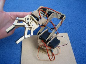 My Mini Servo Grippers And Completed Robotic Arm J J