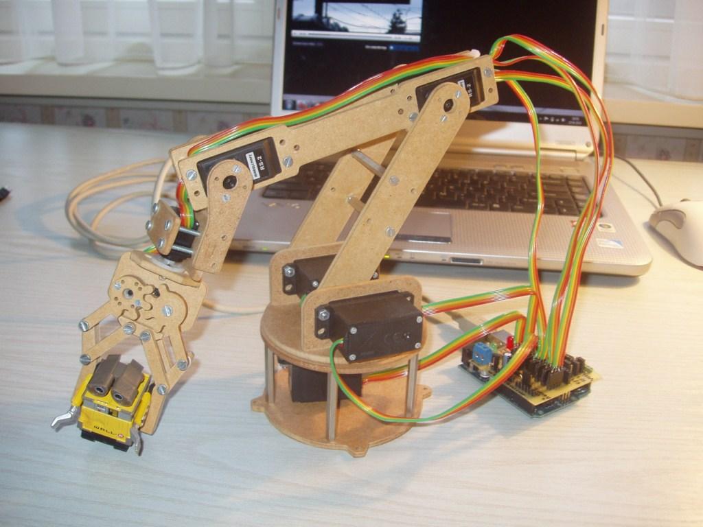 ROBOTIC ARM DESIGN THESIS PDF